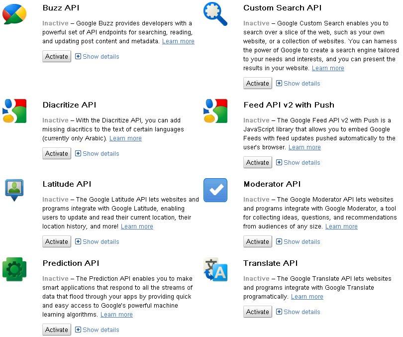 API News – Google Unleashes New API Console | Cozy Digital